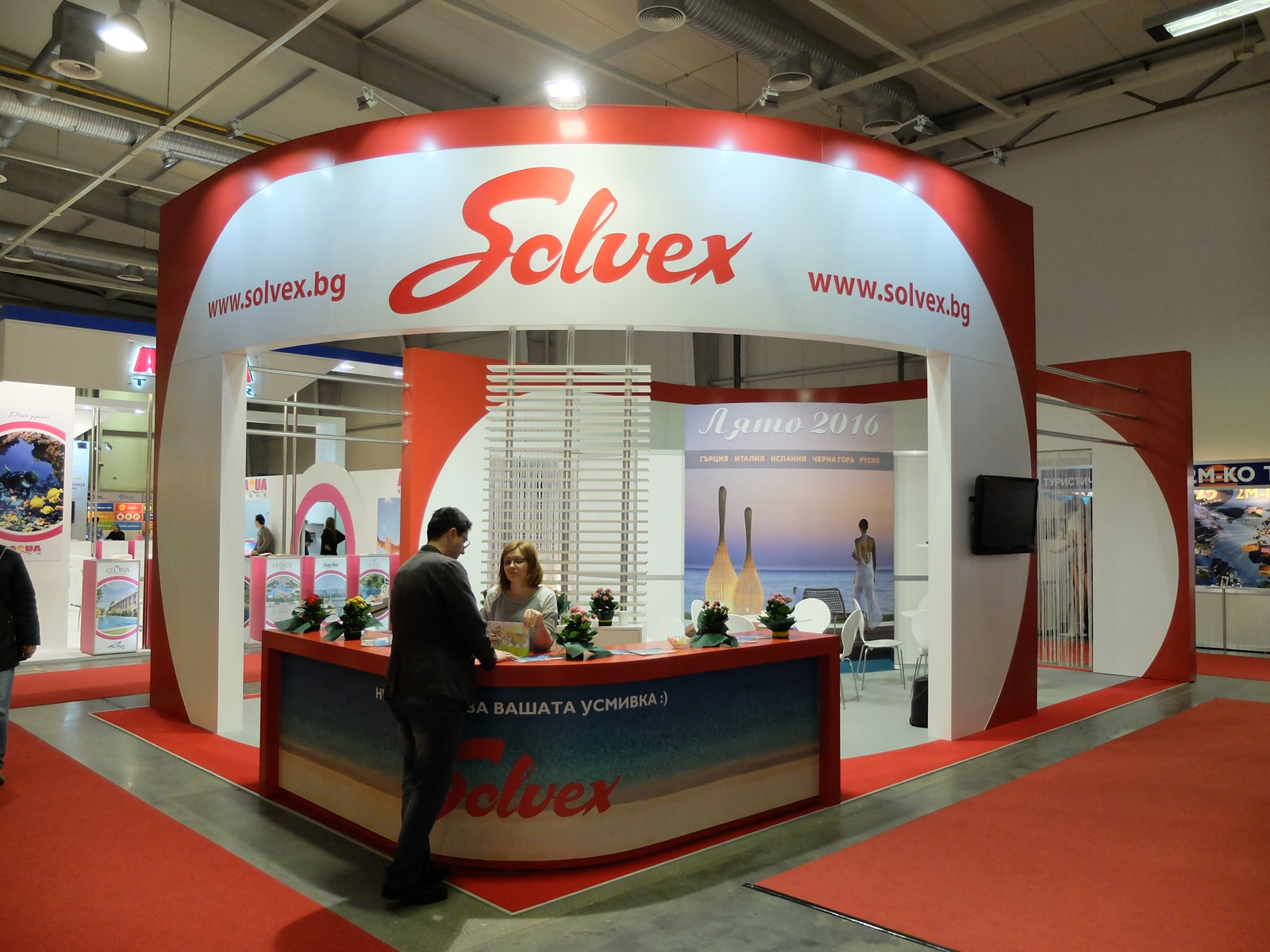 Exhibition Stand Design Trends : Services colorit idea